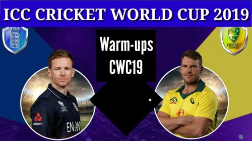 England and Australia will go head to head in third Warm-up CWC19.