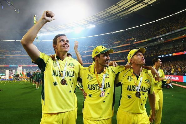 Starc was the best bowler of the tournament but he was ably supported by both Faulkner and Hazlewood