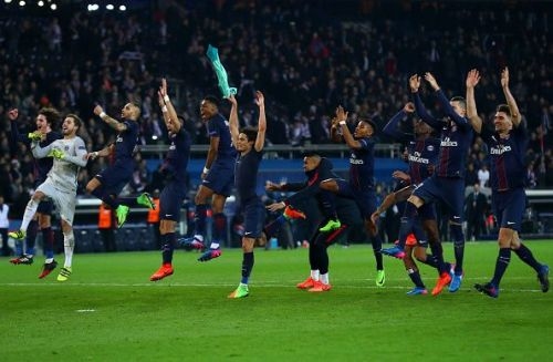 PSG hit Barcelona with 4 goals on Valentine's Day in the 2017-18 campaign