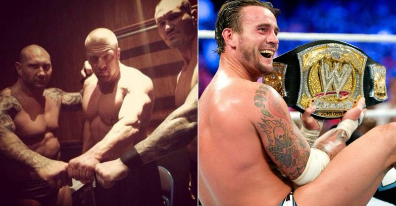 Triple H has made friends in the business over the years as well as vice-versa