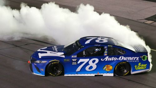 Martin Truex Jr Toyota Monster Energy NASCAR Cup Series Quaker State 400 14072018