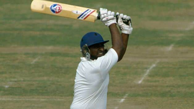 The belligerent Duleep Mendis smashed the Indian bowlers all around Old Trafford.