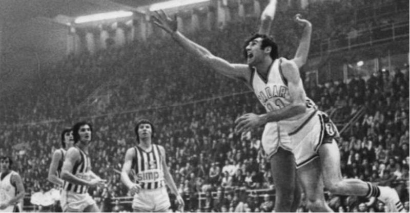 Kreso Cosic playing for Zadar. (Photo courtesy of Josip Zurak)