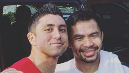 TJP with Manny Pacquiao