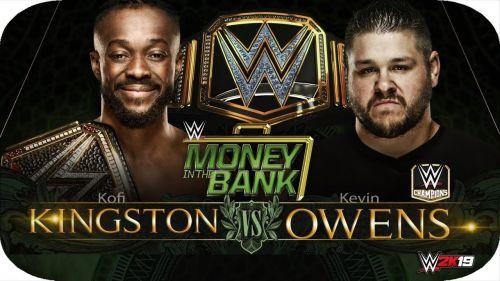 MITB 2019: Kofi Kingston vs Kevin Owens