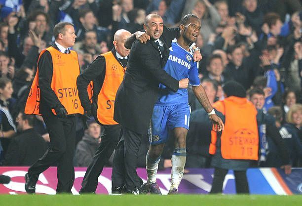 Roberto Di Matteo orchestrated a remarkable victory for the Blues