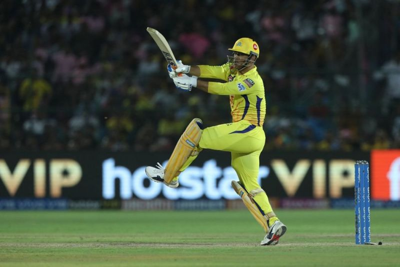 MS Dhoni almost single-handedly guided the CSK batting line-up (Pic courtesy - BCCI/iplt20.com)