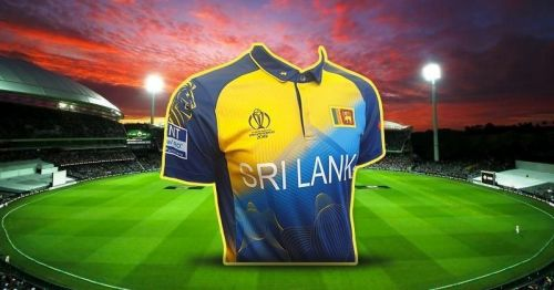 Sri Lanka's 2019 World Cup jersey