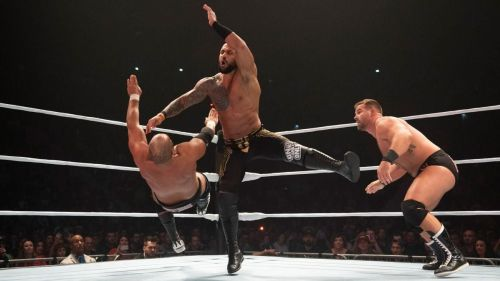 Aleister Black and Ricochet returned in full force and how!