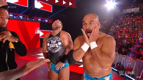 The Revival on last week's Raw