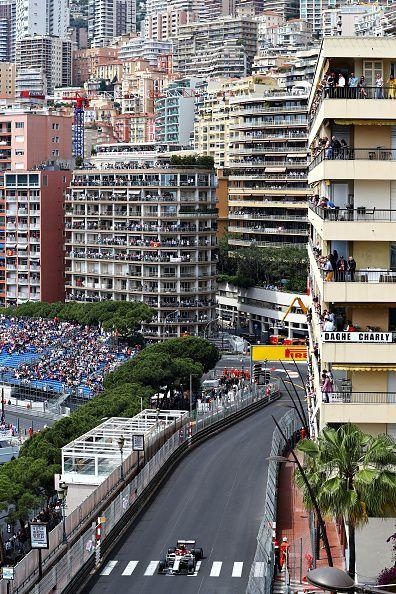 F1 Grand Prix of Monaco - a pretty 'normal' race for Kimi's team!