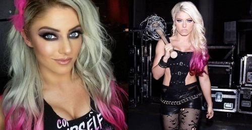 WWE Superstar Alexa Bliss is charisma personified