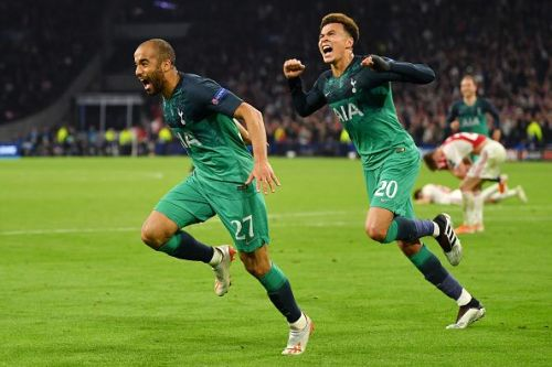 Lucas Moura fired a marvellous hat-trick past the young Dutch outfit, who were distraught and in tears at the FT whistle.