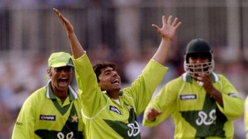 Saqlain Mushtaq' s hat-trick was the second in the World Cup, emulating Chetan Sharma's feat of 12 years earlier.