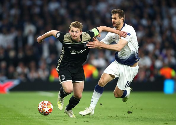Matthijs de Ligt showed why he is considered one of the best defenders in Europe