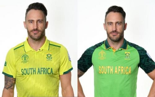 South Africa's Away And Home Kit