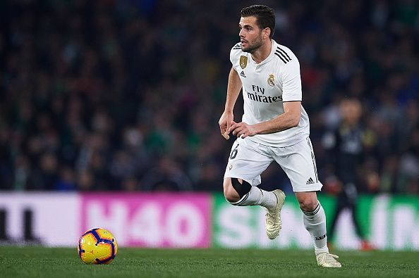 Nacho failed to contain Real Betis attackers.