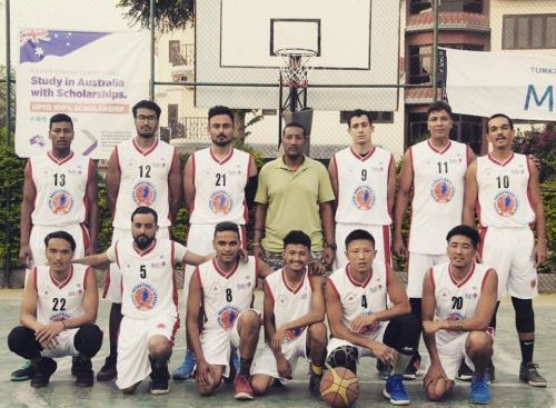 Times International Club is the only unbeaten team in Nepal Basketball League 2019