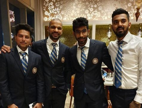 Team India departs for ICC Cricket World Cup 2019
