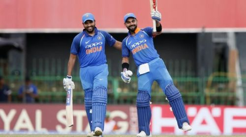 For India, you know Rohit and Virat would come to the party.