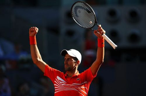 Novak Djokovic starts as a favourite against Stefanos Tsitsipas in the Madrid Open final