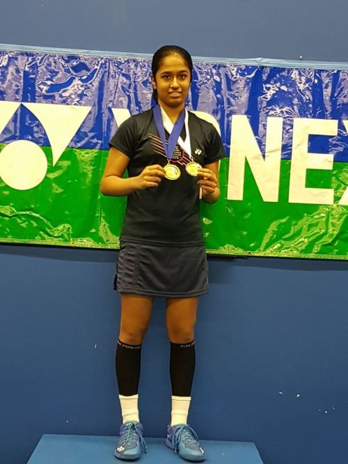 Golden Glory for Roshni Venkat