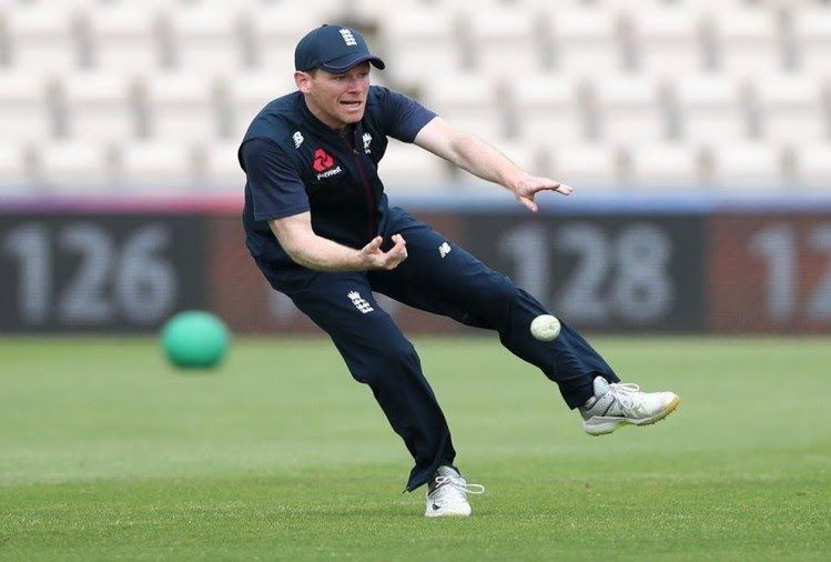 Eoin Morgan is the captain of England