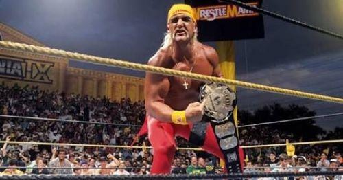 Hulk Hogan after beating Yokozuna!