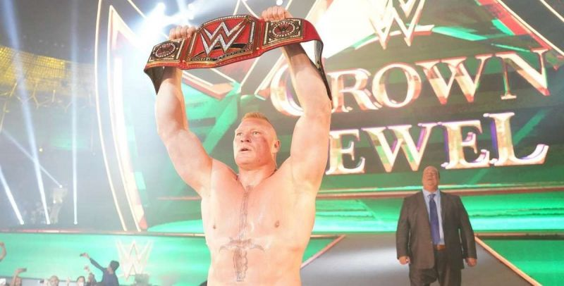 Brock Lesnar is reportedly set to return to the WWE