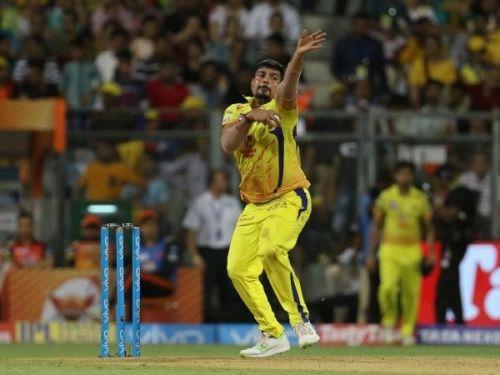 Karn Sharma - The lucky charm for CSK (Image courtesy: IPLT20.Com/BCCI)