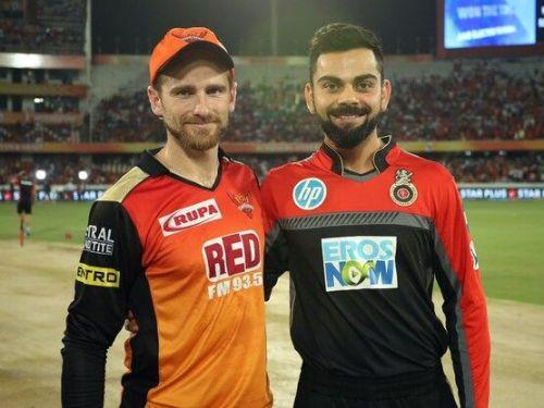 Kane Williamson and Virat Kohli (image credits: iplt20.com)