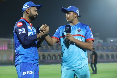 Pant and Shaw are already touted as the future of Indian cricket (picture courtesy: BCCI/iplt20.com)