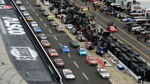 NASCAR qualifying at Bristol