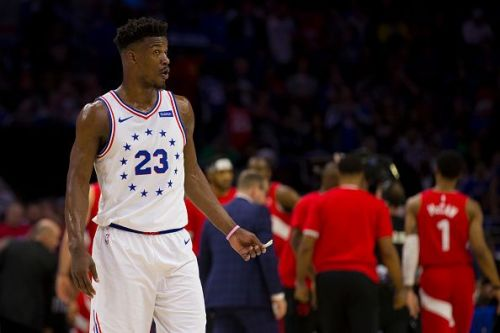 Jimmy Butler played well during the Sixers' trip to the Eastern semifinals