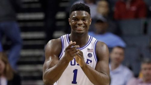 Zion is expected to be this summer's number one pick and has already drawn comparisons to LeBron & Shaq