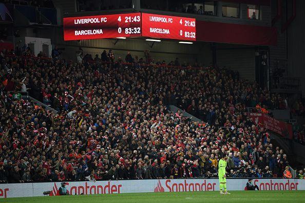 Liverpool v Barcelona - UEFA Champions League Semi Final: Second Leg