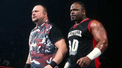 The Dudley Boyz.