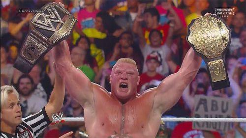The Beast as WWE WWE World Heavyweight Champion