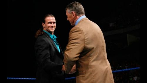 Vince McMahon called Drew McIntyre his