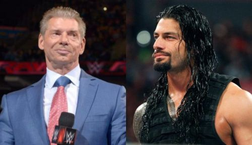 What's Vince planning with the whole Roman thing?