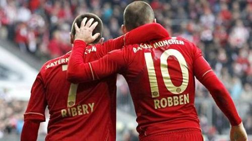 The iconic winger duo