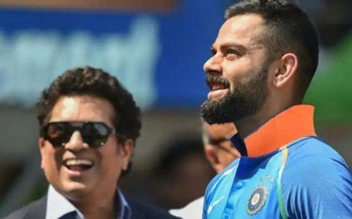Can Kohli beat Sachin Tendulkar's record?