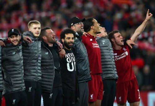 Liverpool have braved the odds to get to the UCL final