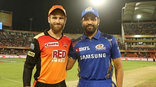 Kane Williamson and Rohit Sharma (image credit: iplt20.com)