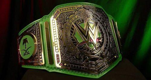Braun Strowman won the WWE Greatest Royal Rumble championship last year.