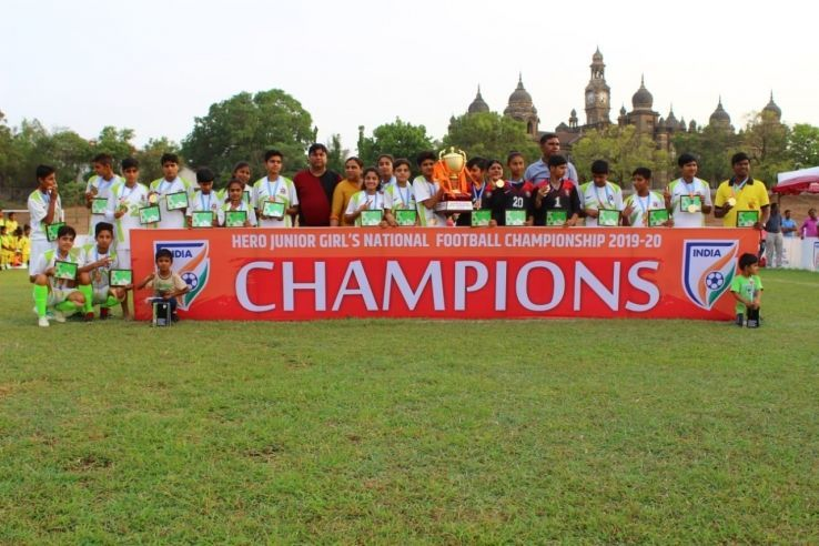 Himachal Pradesh players after the 3-1 win over Jharkhand