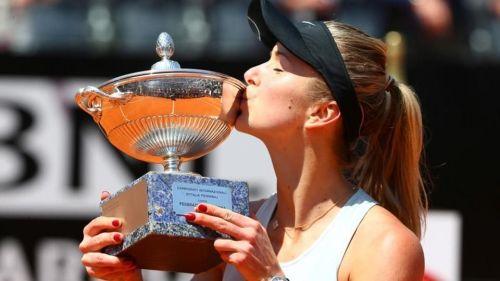 Elina Svitolina was the winner of last year's Italian Open