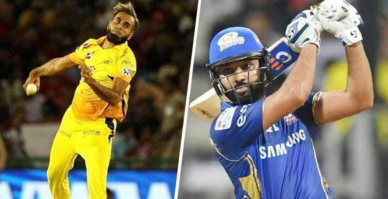 In this season, Rohit has scored 24 runs off 16 balls against Tahir
