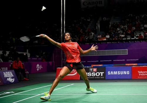 PV Sindhu won her match easily in the Women's Singles category