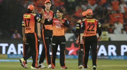 The bowling attack is looking a bit fragile with Rashid not picking up wickets (picture courtesy: BCCI/iplt20.com)